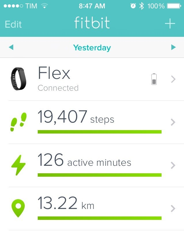 Aiming for 20,000 steps