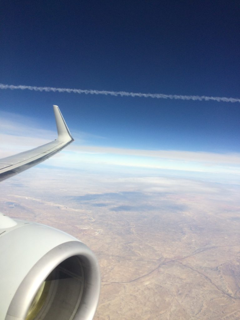 Picture from Boeing 737 high over Idaho